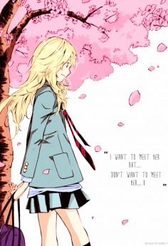 "ロマンチック How Do You Call… These Feelings? What I'm Feeling Right Now… How To Say It…"" Your Lie in April"