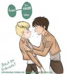 HOW MANY UNDERCUTS. NO ARMIN IF YOU DARE CUT YOUR HAIR I  GROW IT LONGER FOR ALL I CARE JUST DONT CUT IT