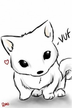how to draw dog chibi | My dog chibi - 48035 - Apple iPhone & iPod Painting Gallery | MMGN ...