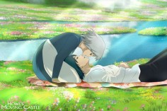 Howl's Moving Castle - Howl and Sophie by Lesya7 on deviantART
