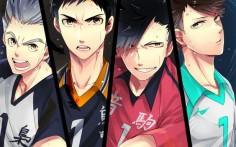 HQ!! Captains // Bokuto Koutaro, Sawamura Daichi, Kuroo Tetsurou & Oikawa Tooru - Haikyuu!! / HQ!!