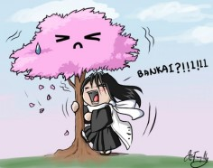 I CAN'T BELIEVE HOW MUCH I LOVE THIS!!!! Byakuya BANKAI by ~AznTranquility on deviantART
