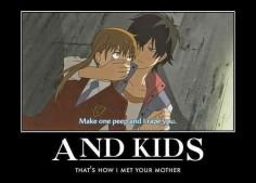I don't like the rape part but the kids part is funny. tonari no Kaibutsu Kun