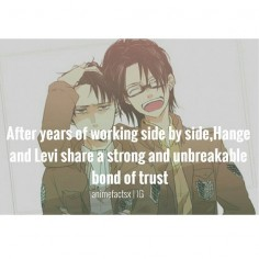 I hate to ruin the moment, but this person spelled Hanji's name