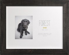 "I love this ""Doggie Heaven"" print you can have made to remember your beloved dog. So precious. Various frames are available (or order unframed). --- need to get this for a Cosmo memoriam"