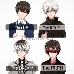 I really think that kaneki will receive a tragic death in the ending ----- #anime #tokyoghoul #tokyoghoulre #kanekiken #sasakihaise #httptokyoghouledits