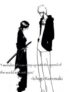 Ichigo and Rukia - this chapter had me crying!!!