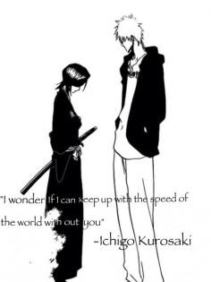 Ichigo and Rukia - this chapter had me crying!!!