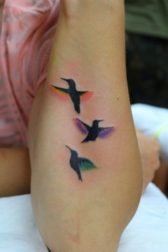 I'm no fan of tattoos but this I would do as a family tat. Colors of our  perfection