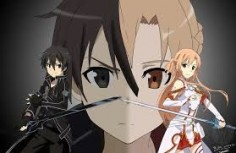 Image result for sao kirito and asuna night sky