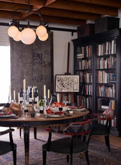 Inspired dining moment from Ralph Lauren Home's West Village collection