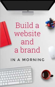 - Want to start a business but no skill or budget to build a website or design a brand? Learn how we created both in a morning for less than £80 – with zero experience!