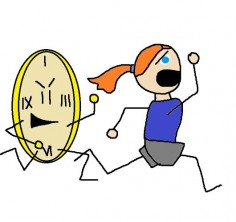 Is this how you feel when you have #time management issues? Stay tuned! A new, interesting blog post is coming