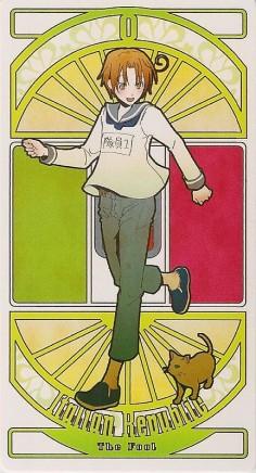 Italy | Hetalia Tarot Card