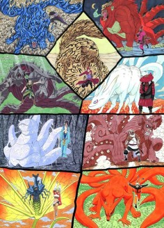 Its the tailed beasts!