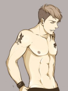 Jean Kirschtein by miyajimamizy on  Don't know this anime but this guy tho