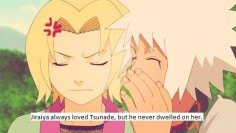 Jiraiya towards Tsunade~ Awwww!