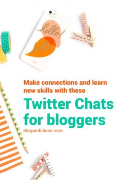 Join other bloggers and online entrepreneurs in these upbeat Twitter chats about blogging and business strategies.
