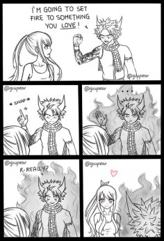 Just a nalu meme by Giupear on DeviantArt