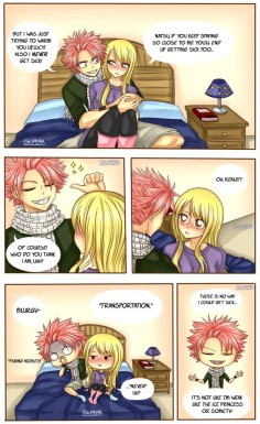 Just a word (Nalu comic) by Giupear on DeviantArt