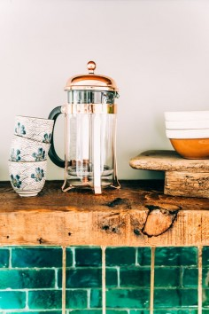 Justina's boho kitchen | The Jungalow