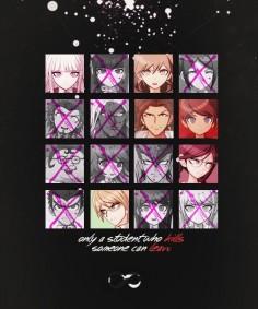 """K I L L or B E K I L L E D "" Dangan Ronpa #anime"