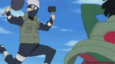 Kakashi vs Gai: Race