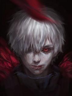 Kaneki Ken | Tokyo Ghoul | Fanart | Art