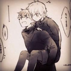 kaneki x hide