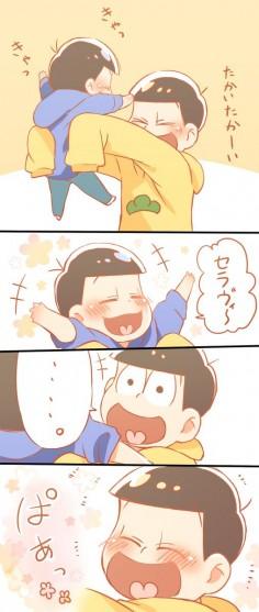 Karamatsu y Jyushimatsu ♥
