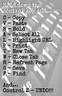 Keyboard Shortcuts | Teacher Tech