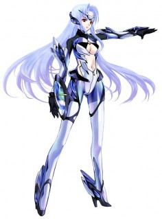 KOS-MOS from Xenosaga Episode III