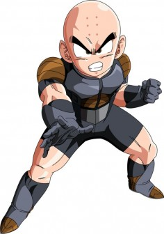 Krillin (Frieza Saga) MLL Redesign by OWC478 on DeviantArt