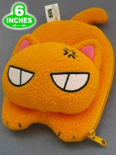 Kyo from Fruits Basket anime, plush wallet $10