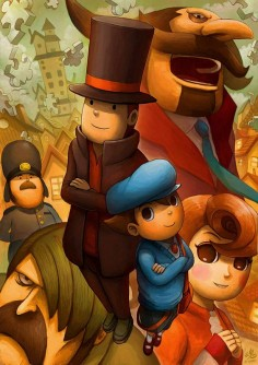 Layton and the Curious Village by Ry-Spirit on DeviantArt