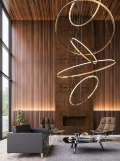 LED metal pendant lamp with dimmer LOHJA by @Cameron Design House design Ian Cameron or Minotti