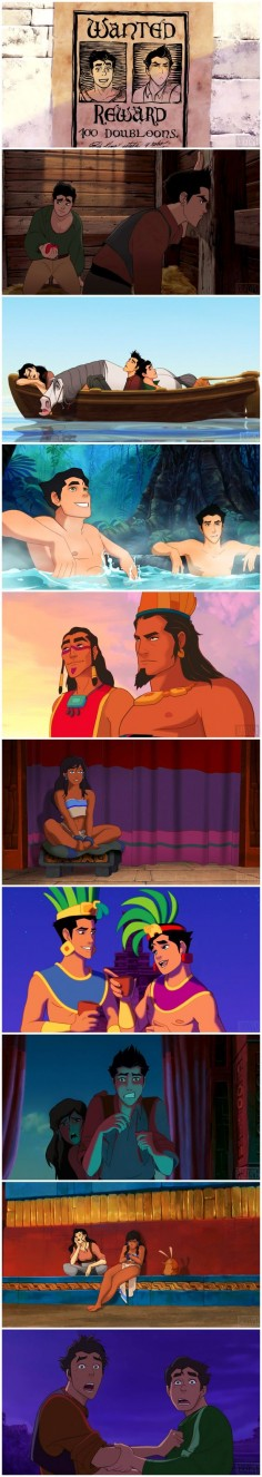 Legend of Korra - The Road to El Dorado parody soooo I'm guessing Korra n Maka   The