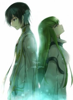Lelouch and  - Code Geass