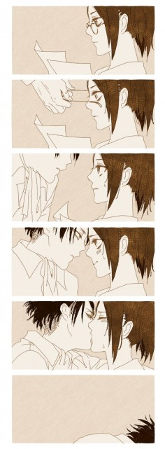 Levi and Hanji // AOT
