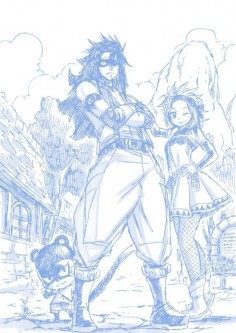 Lilly, Gajeel & Levy