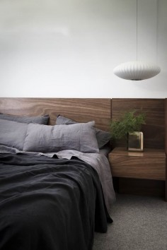 Linen flat sheet with border interior design