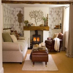 Living room inspiration. Again it's the colours and the natural feel.