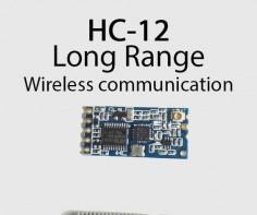 Long range, , Arduino to Arduino wireless communication with the HC-12.