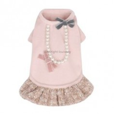 Louis Dog Tweed Girl Dress - Shop By Designer - Louis Dog Collection - Clothes Posh Puppy Boutique