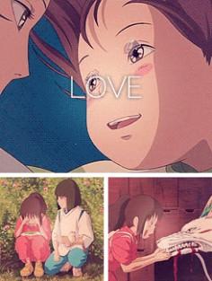 Love - Chihiro and Haku ♥