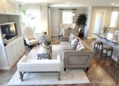 love this living room  such a great use of space!
