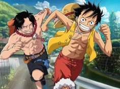 LUFFY ACE One Piece