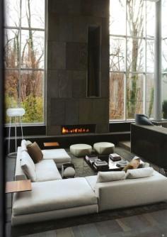 luxurious sofa configuration
