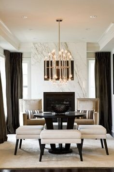 LUXURY DINING ROOM IDEAS | be inspired by this luxury Dining Room |  #diningroomdecorideas #moderndiningrooms