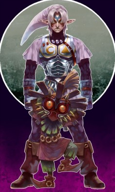 Majora and the fierce deity